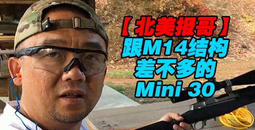 【北美报哥】跟M14结构差不多的Mini 30