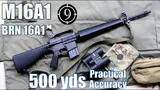 m16a1 (brn16a1 clone) to 500yds: practical accuracy