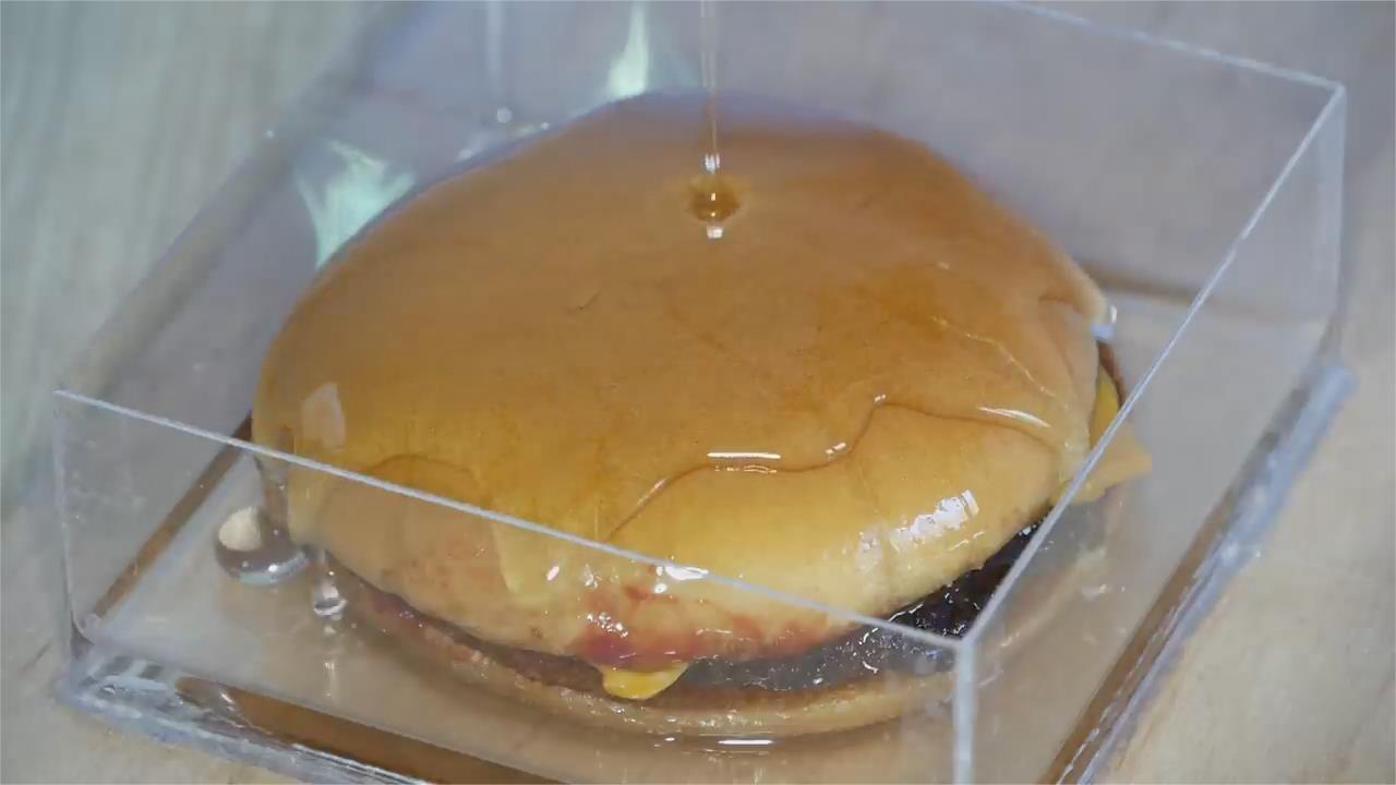 汉堡和薯条混合环氧树脂, 60天对比情况, 结果会怎样?