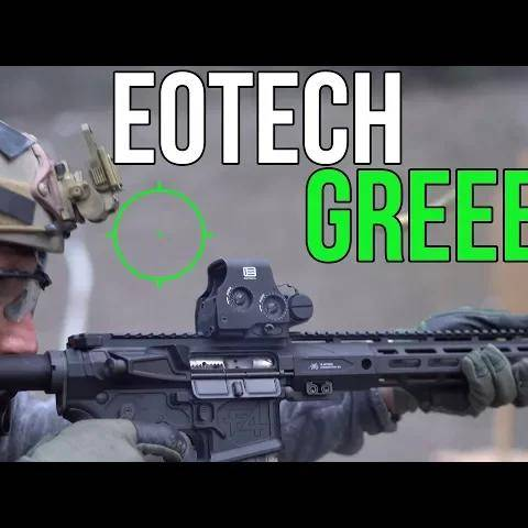 brand new eotech green reticle