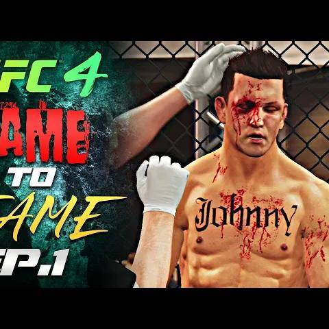 lame to fame ep.1 - johnny cage is back!(ufc 4 career mode