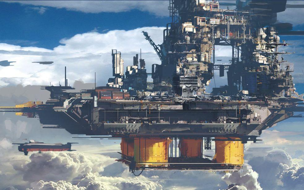 坠好看的游戏CG和宣传视频: 科幻06