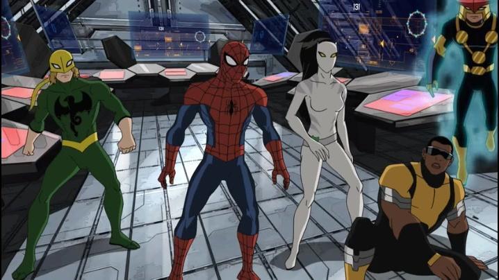 【漫威动画】终极蜘蛛侠第二季09 软禁 这季更精彩 持续更新中