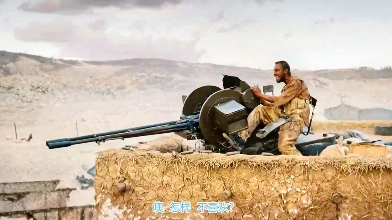 入侵阿富汗: 这才叫劲爆战争猛片, 用重机枪压制敌人进攻, 真过瘾