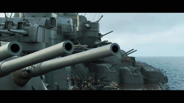 经典二战猛片, 重型战列舰堪称移动的武器库, 遭到近百架战机围攻