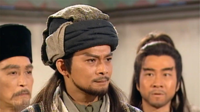 八部: 鸠摩智欺负段誉, 不料乔峰自带BGM出场, 绝学击退鸠摩智!