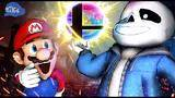 smg4: sans s first day in smash bros
