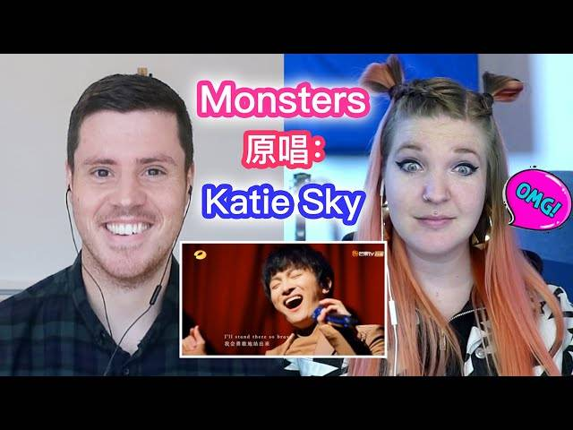 《monsters》原唱 katie sky 来看周深的翻唱视频啦!她是怎样评价周深的呢?快来看!....... (zhou shen/周深 reaction