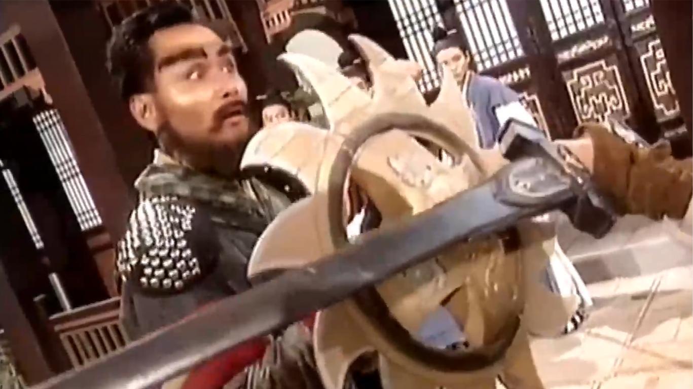 神雕: 杨过断臂归来, 仅用一只手就吊打金轮法王, 看呆众人!