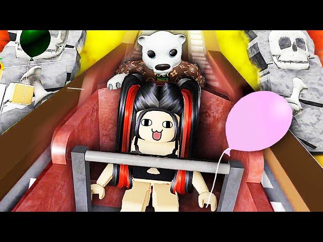 roblox逃離馬戲團 爆笑兄妹坐上驚險的骷髏過山車逃生!屌德斯小熙
