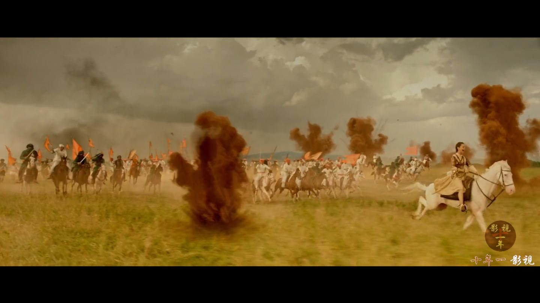 这才叫战争片, 20000骑兵对战60000炮兵, 惨烈震撼, 足足看了三遍