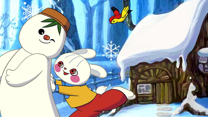 雪孩子 雪孩子