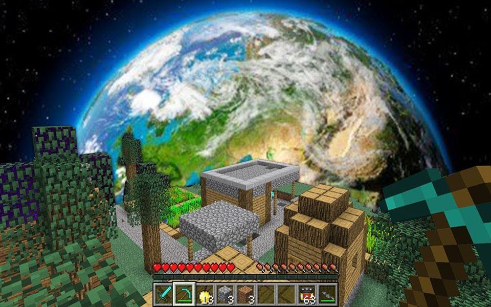 我的世界 在宇宙村庄中你可以生存下来吗? !