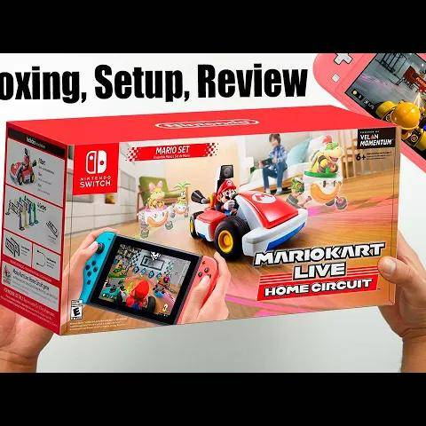 mario kart live: home circuit - unboxing,setup and review