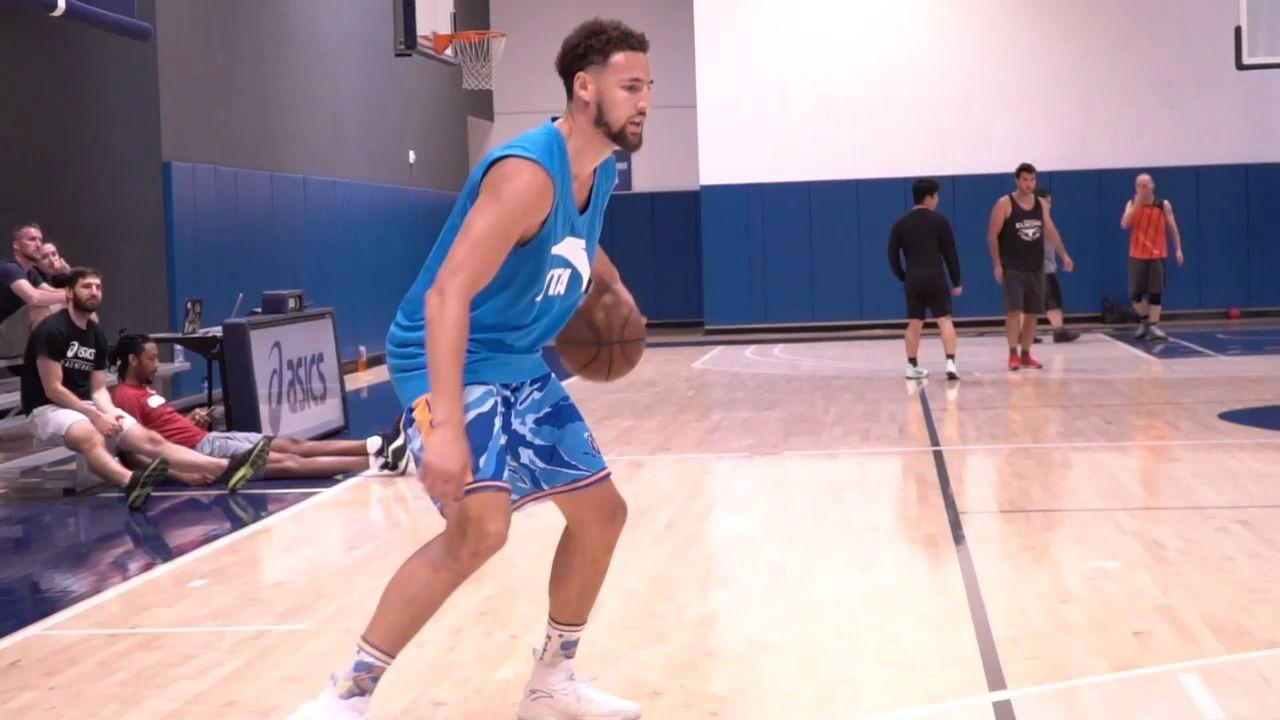 【篮球训练】克莱·汤普森投篮训练录像--训练师JLaw