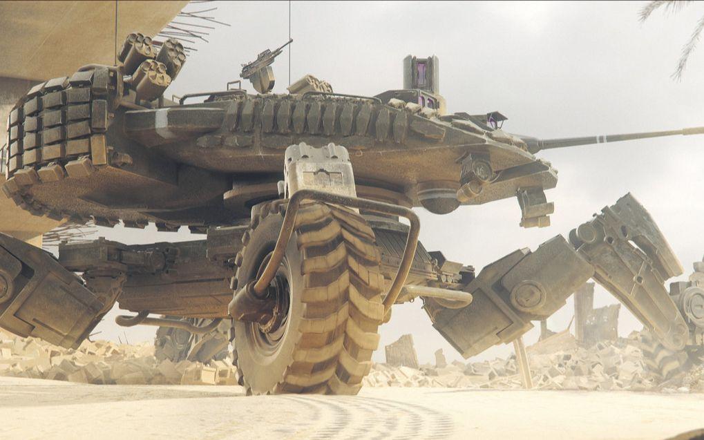 坠好看的游戏CG和宣传视频: 科幻05