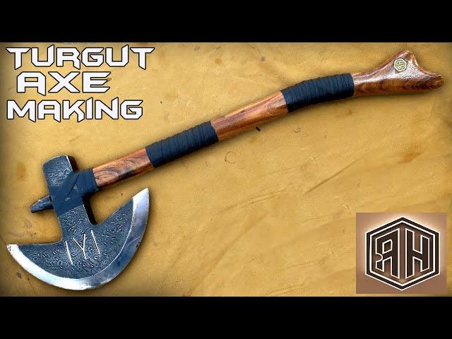 making turgut s axe from season diriliş ertuğrul - ottoman empire s war axe