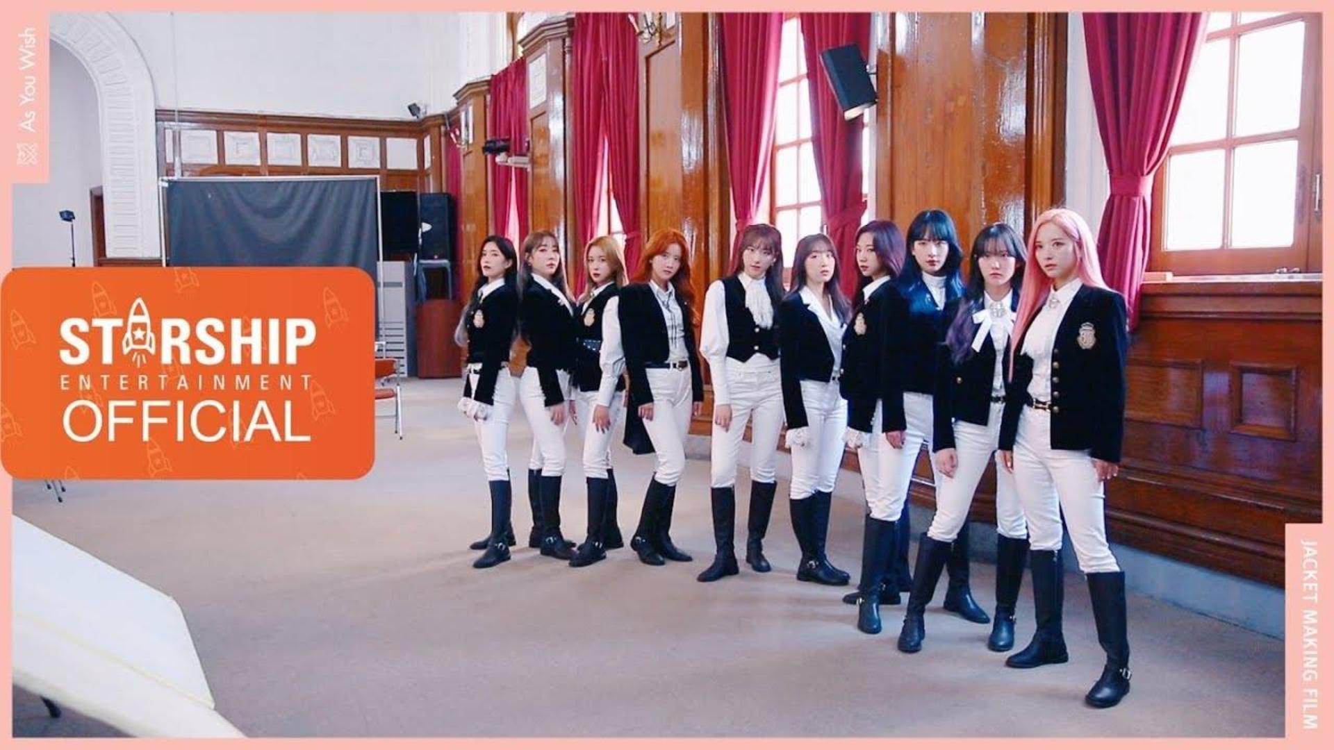 宇宙少女 (WJSN) -  As You Wish    专辑幕后花絮