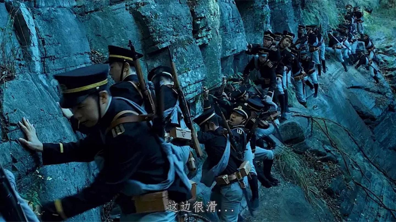 电影: 几千人的部队惨遭几百人围剿, 每一秒都是震撼, 百看不腻啊