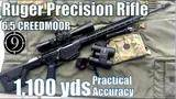 ruger rpr to 1,100yds 6.5cm: practical accuracy (ior valdada x50 + ruger precision rifle