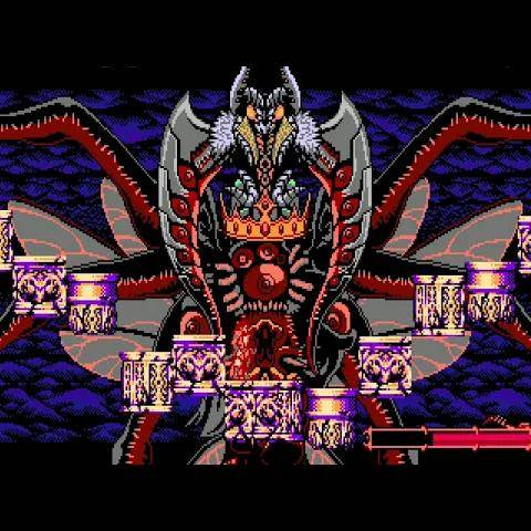 bloodstained: curse of the moon 2 - the demon s crown boss fight