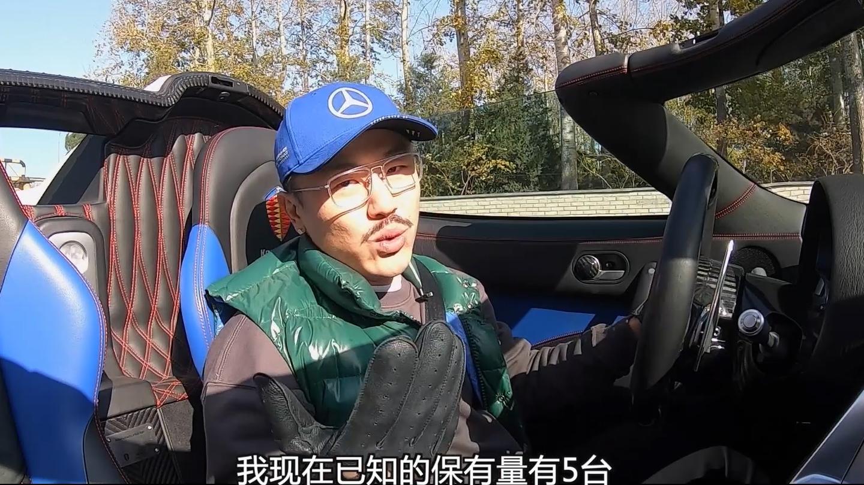 """一台""""不是这个时代产物""""的柯尼赛格AgeraR 行驶在北京马路上"""