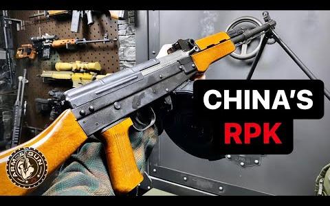 [Arm&Gun]1分钟速看中国81式班用机枪