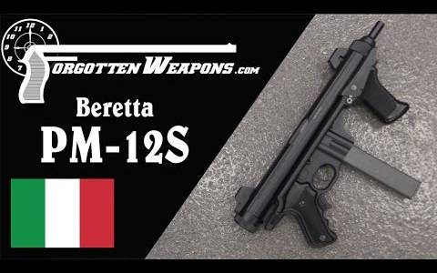 【被遗忘的武器/双语】伯莱塔PM-12S冲锋枪 - 冲压管状机匣与包络式枪机