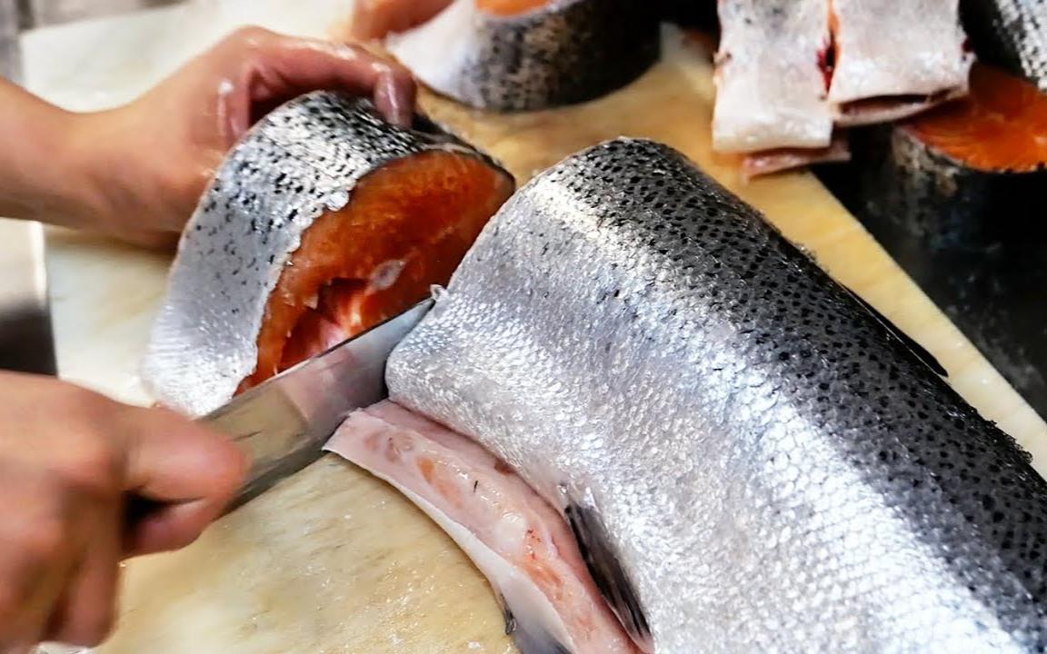 芝加哥美食 - 芝加哥最好的熏鱼! 三文鱼, 鲟鱼, 黑貂鱼