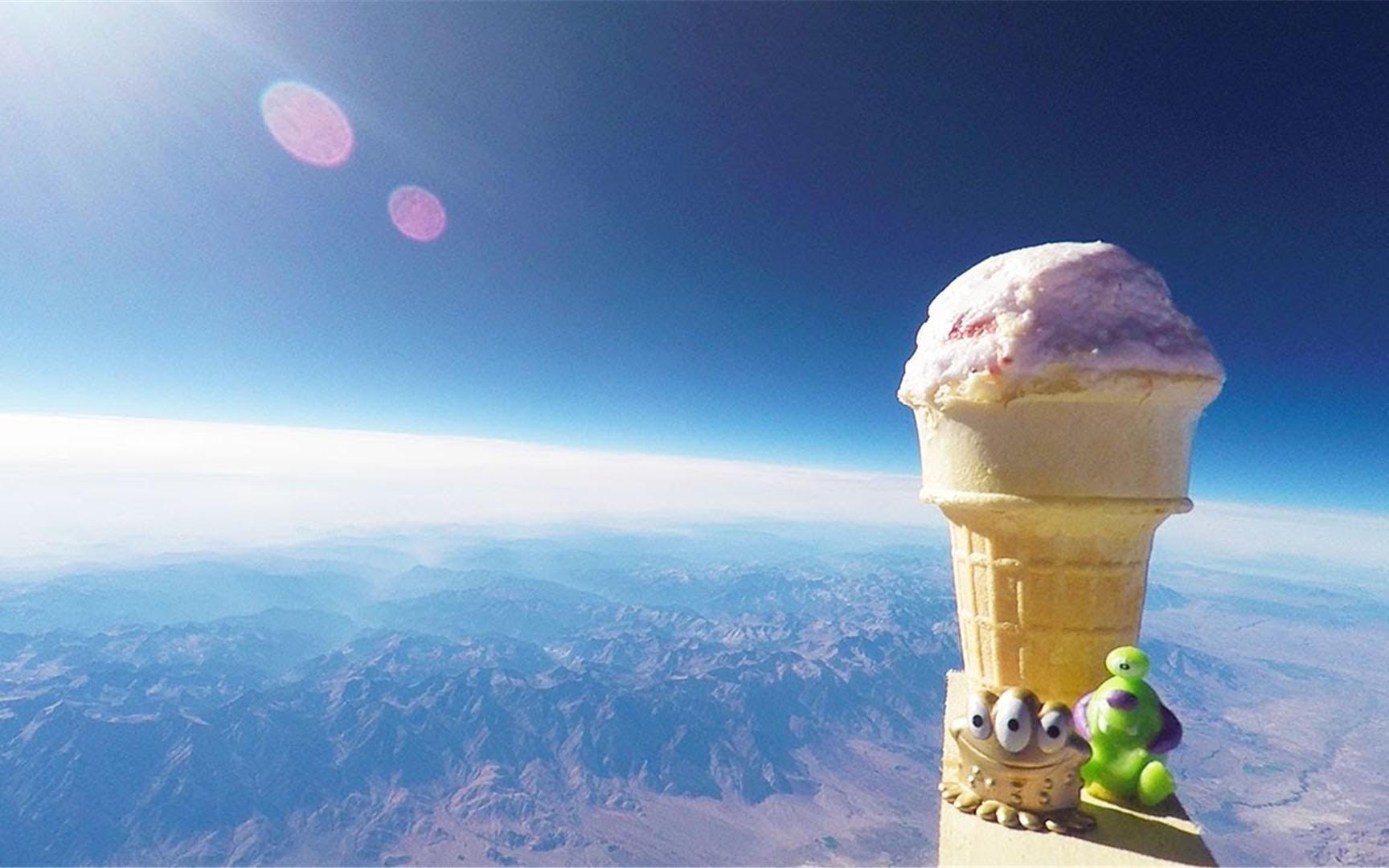 冰激凌在太空中会融化吗?外国牛人亲测,全程高能!