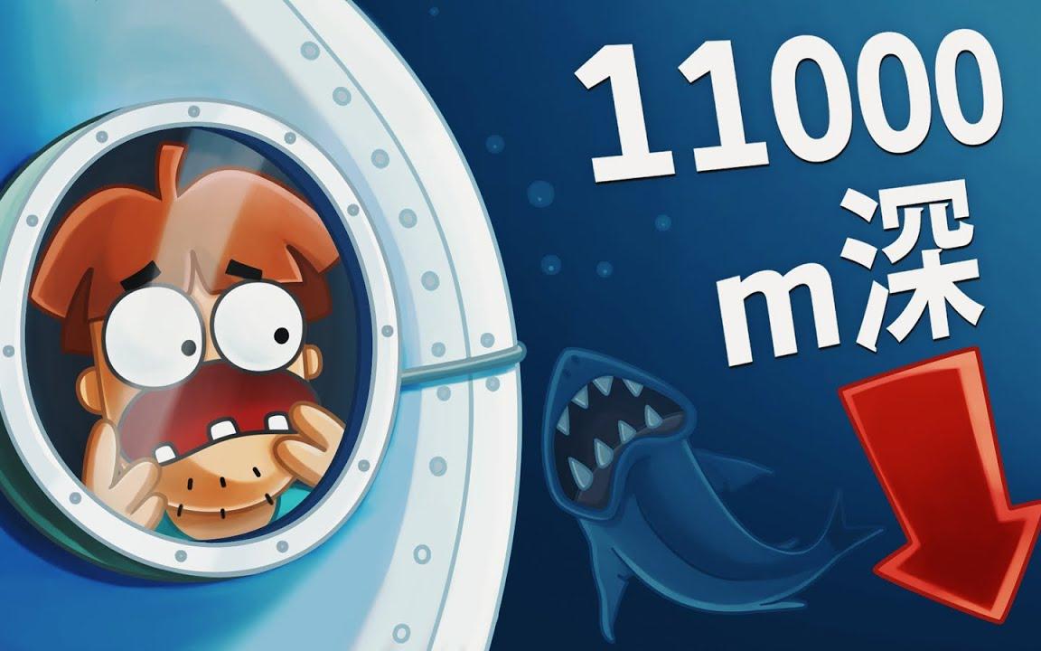 去深度10000米的马里亚纳海沟,潜艇下落的过程会经历什么?