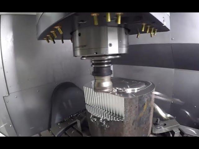 科技感爆棚的德国数控机械,加工钢铁简直就是削铁如泥