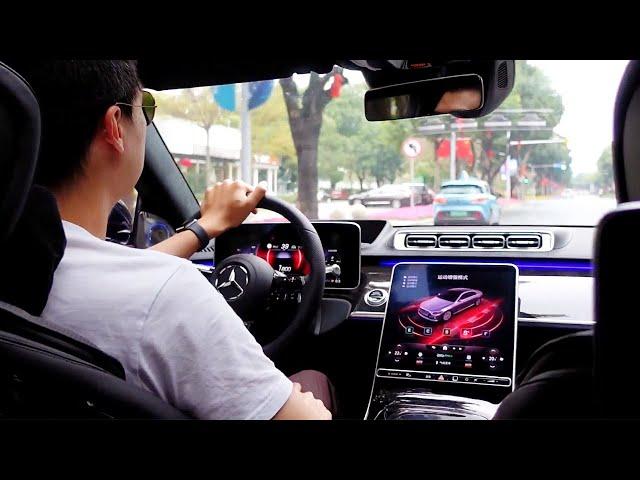 给汽车诞生135周年的献礼 2021深度试驾全新一代奔驰s级s500l