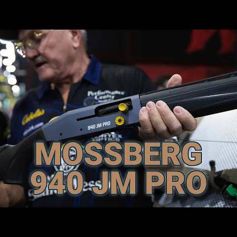 the michulek s debut the mossberg jm pro 940 at shot show