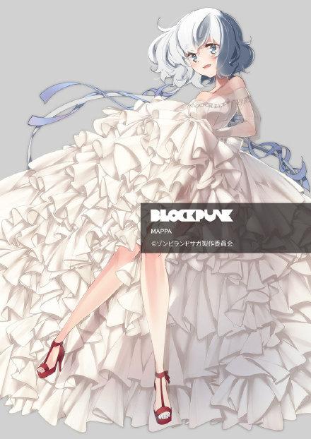 TV动画《佐贺偶像是传奇》源樱、水野爱、绀野纯子结婚礼服版设计公开