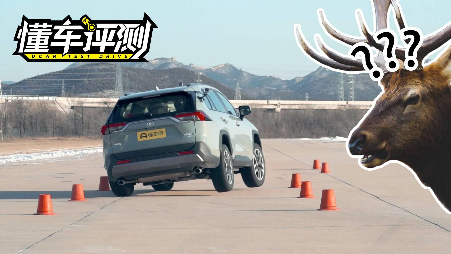 全新丰田RAV4荣放与领克01麋鹿测试专项评测