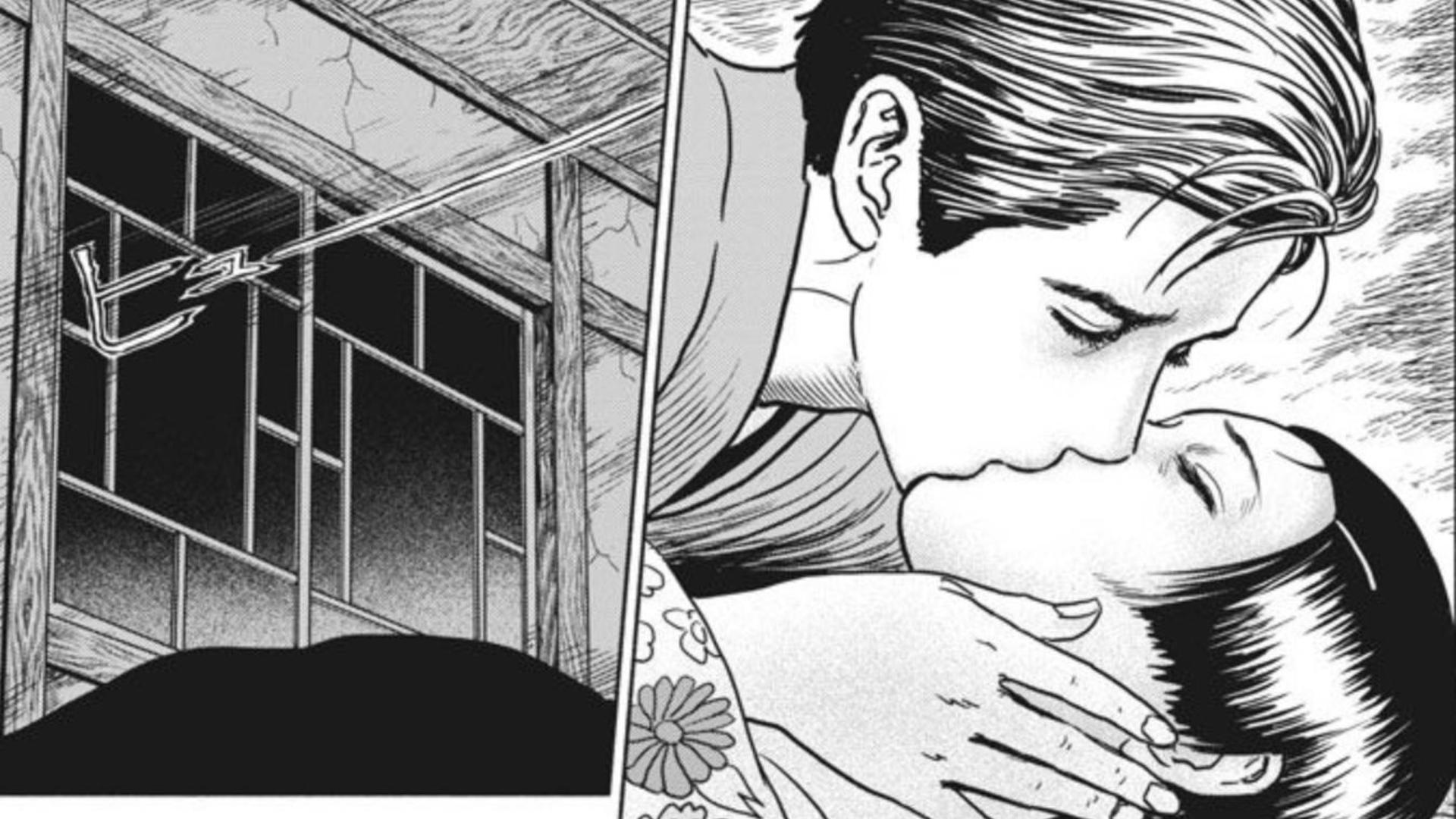 【人间失格6-伊藤润二】这部漫画的女人都是为了满足男主的桃花运