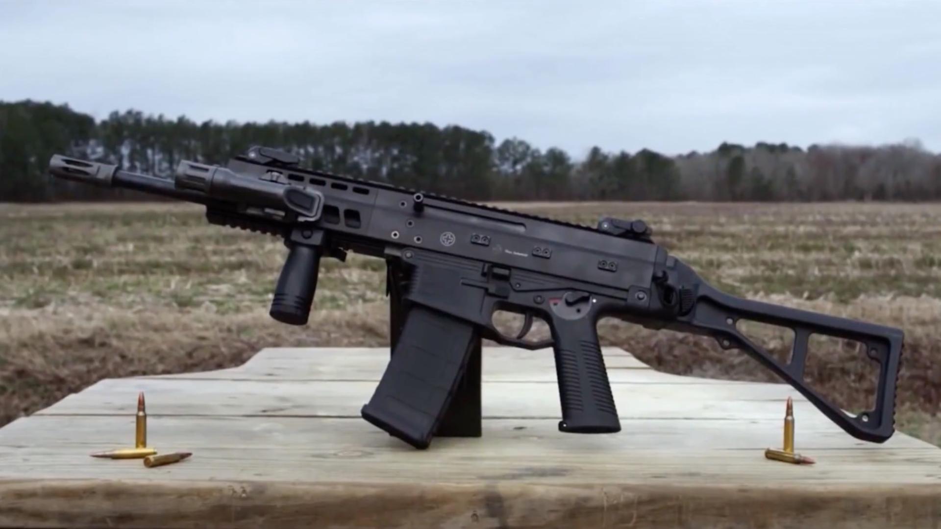 【極光訓練PolarLight/VickersTactical】APC-556突击步枪(中文字幕)