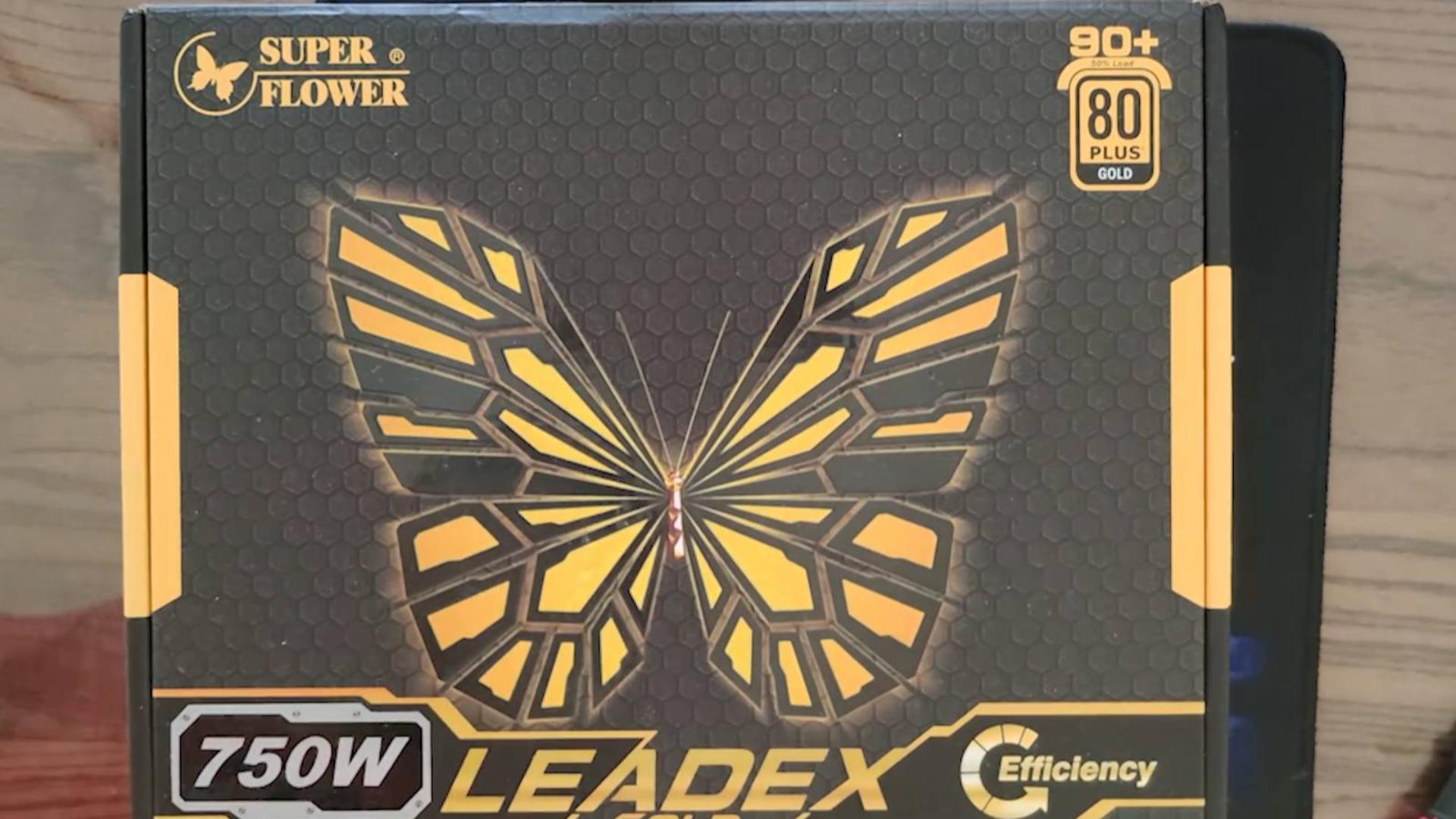 开箱上手振华电源 SUPER FLOWER 750W LEADEX
