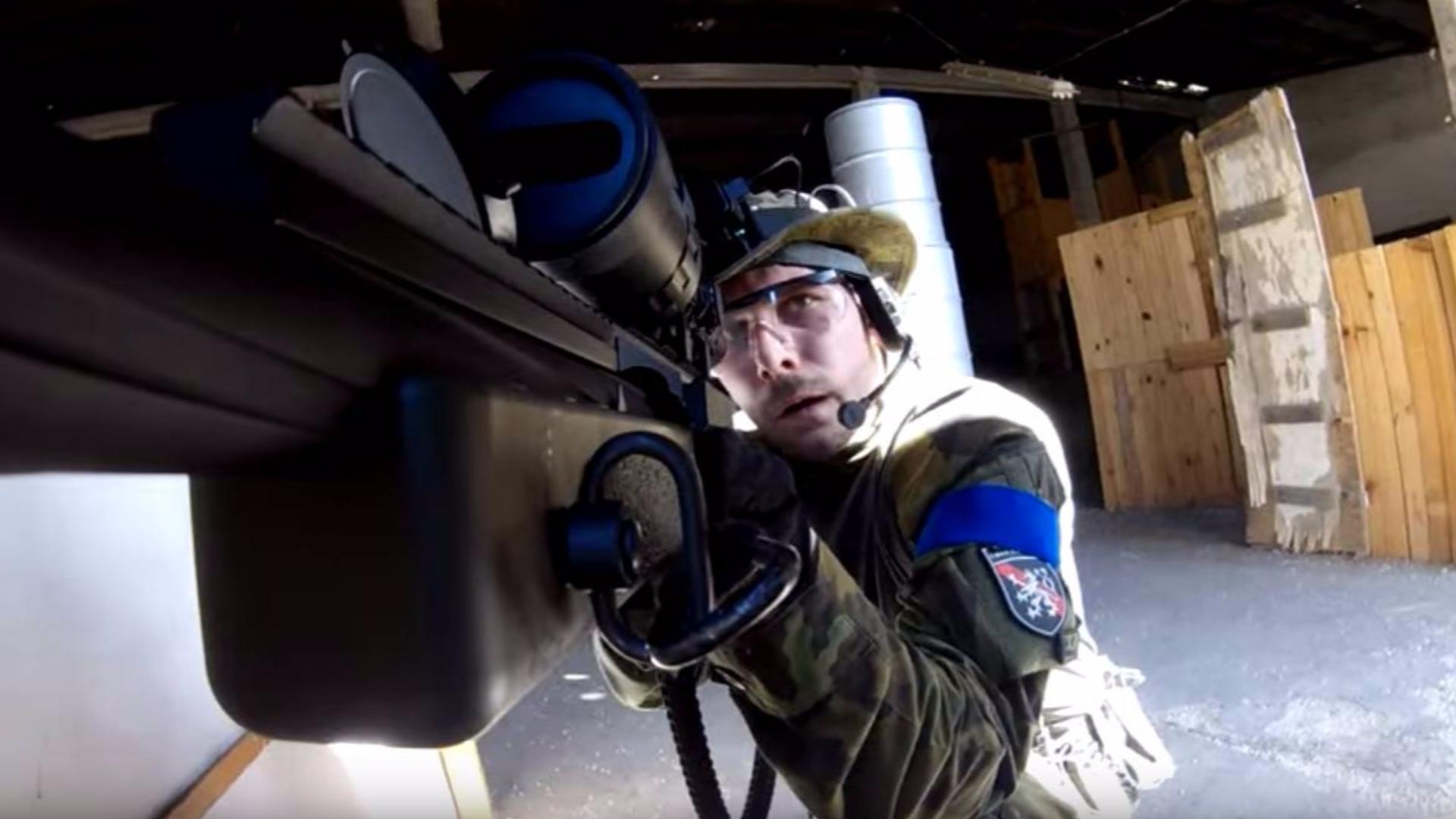 【奥地利小哥】600 FPS狙击步枪 测试!