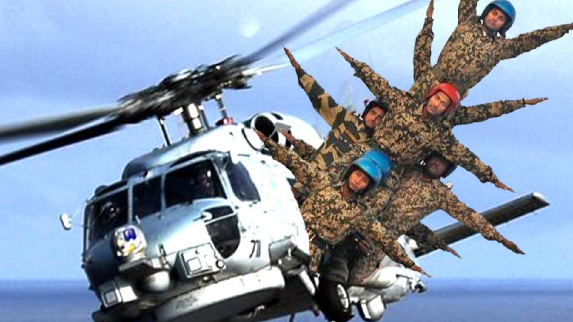 美军坐直升机不关舱门?这波操作真的安全吗?