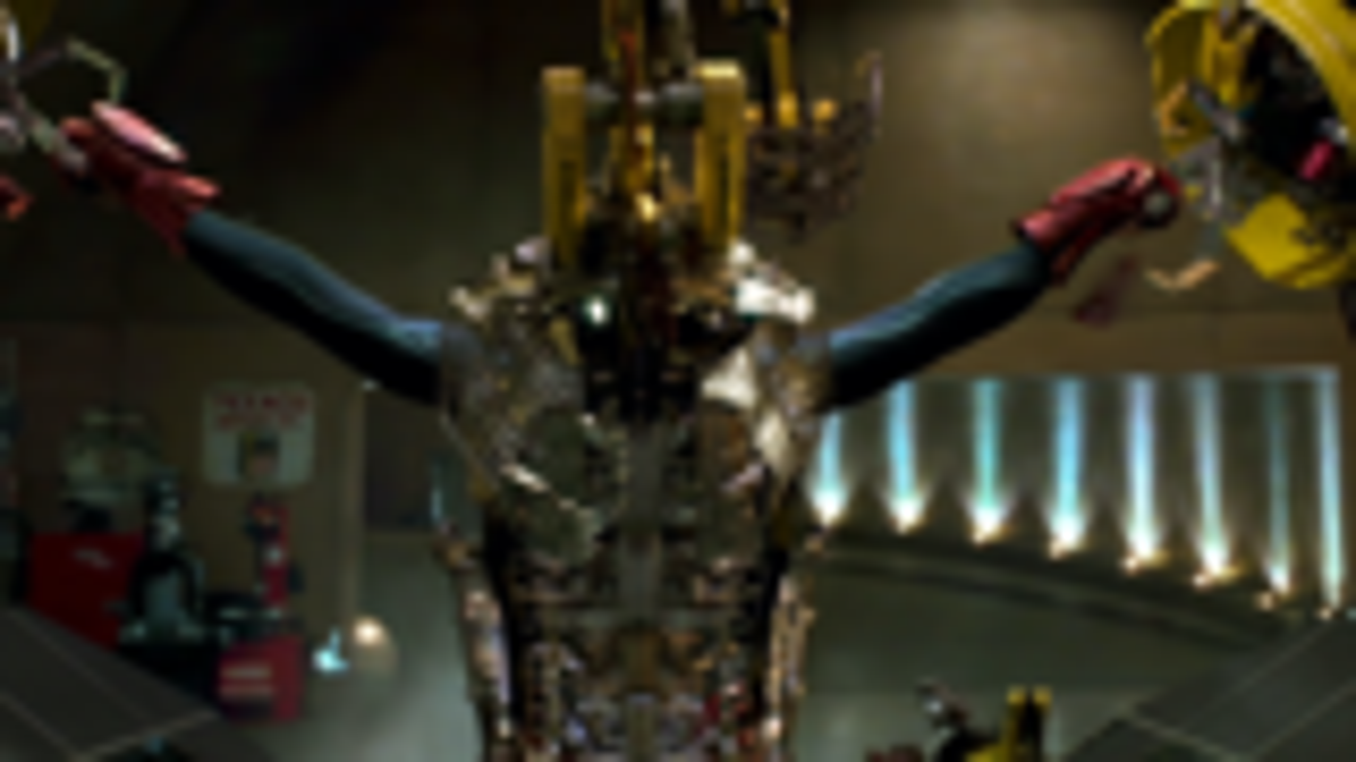 60帧钢铁侠1变身,还是感觉这个变身帅,比较有机械感