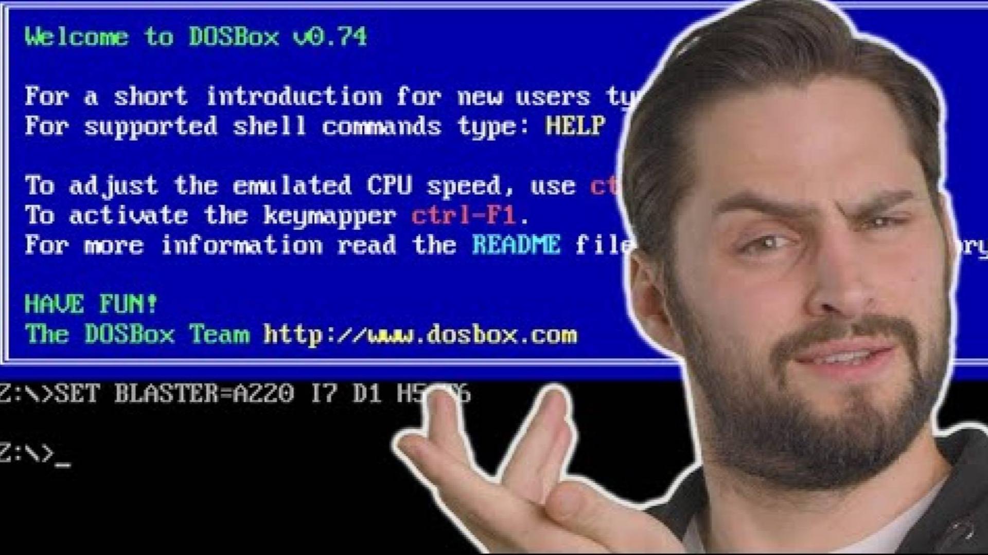 【官方双语】为什么需要DOSBox? #电子速谈