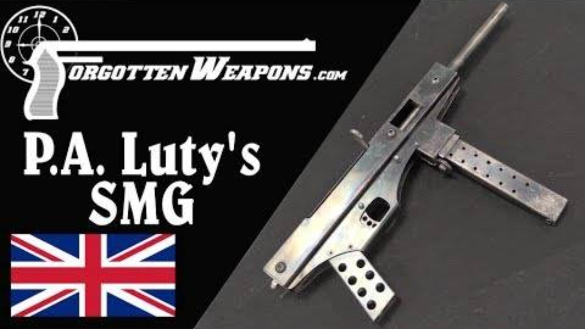 【被遗忘的武器/双语】法网恢恢,疏而不漏的P.A.Luty的冲锋枪