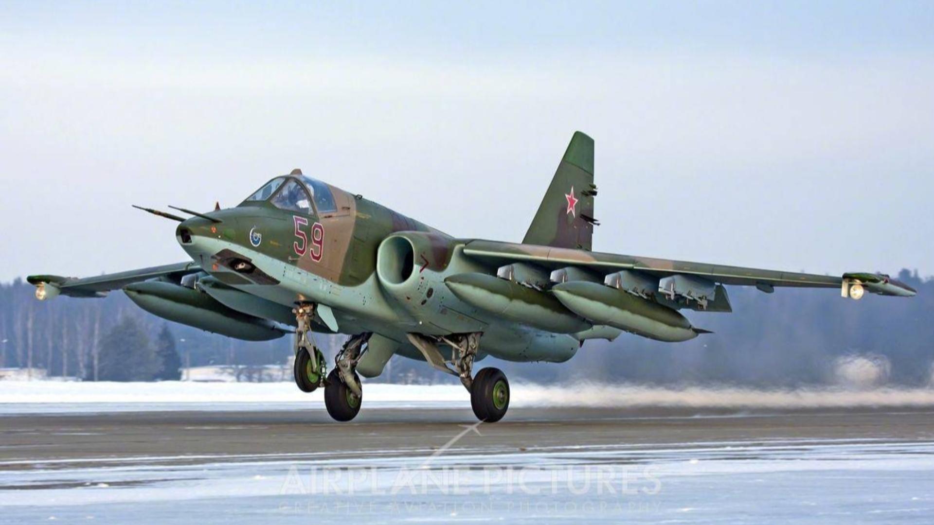 【squad】su25击杀加拿大豹2A6