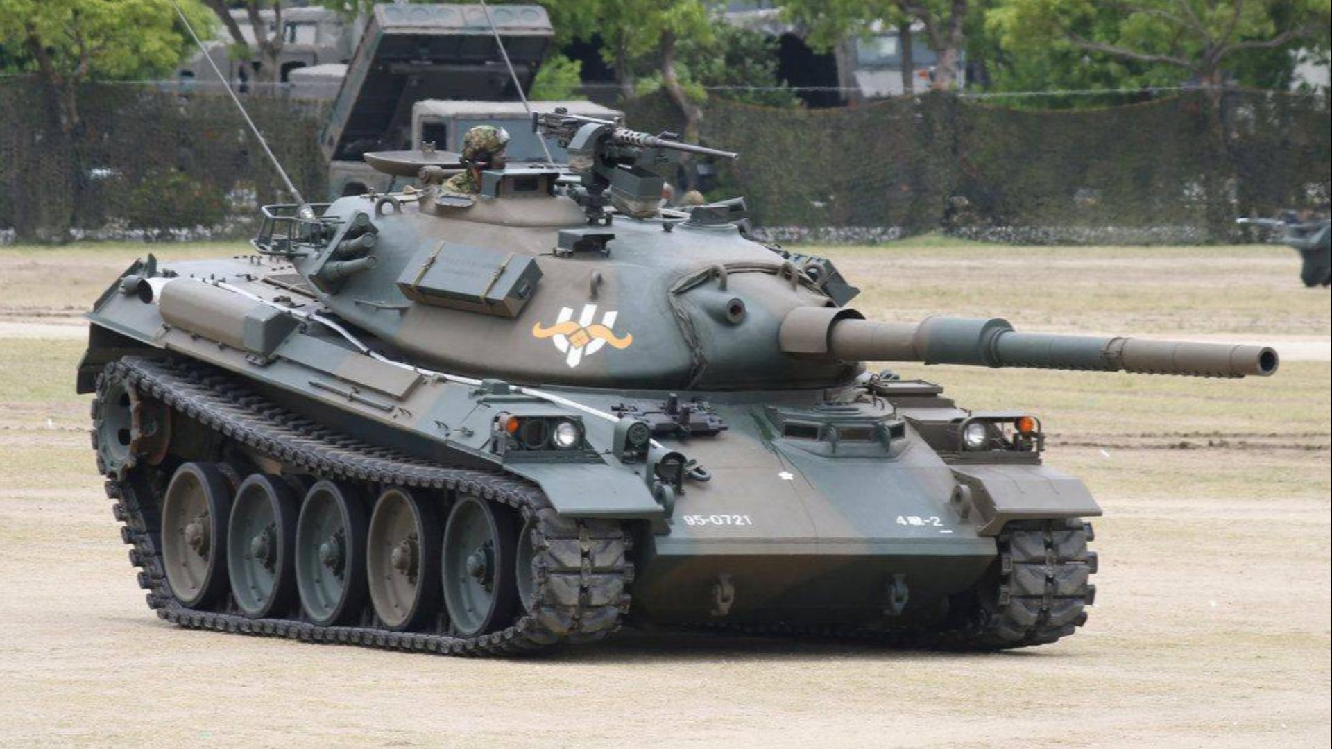 【讲堂522期】采用西方普遍的105mm线膛炮,拥有绝密空气悬挂系统的74式坦克