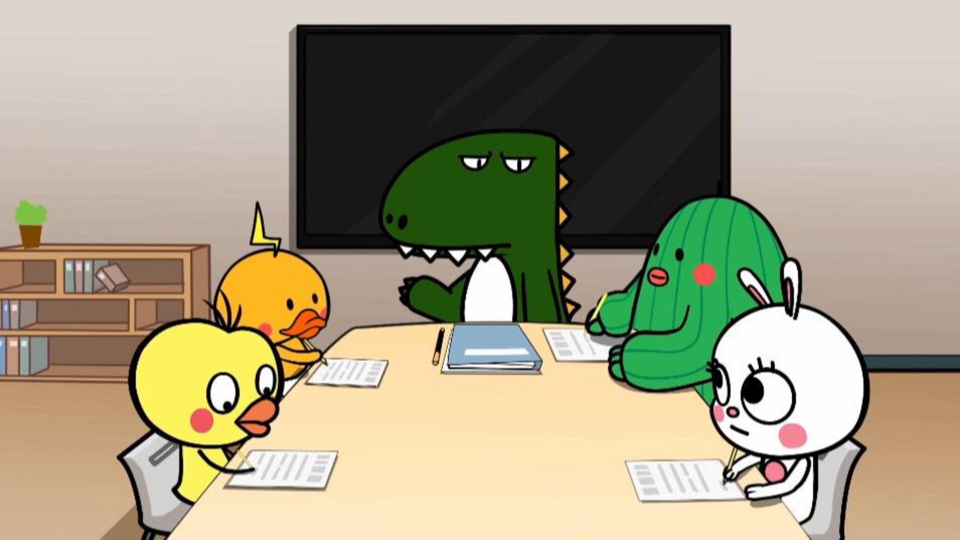 【国产动画】鸡皮和他的朋友们 预告