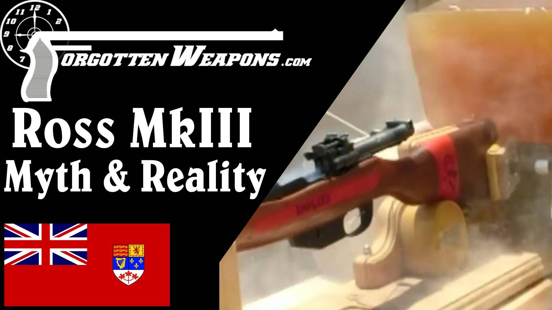 【被遗忘的武器/双语】关于罗斯MkIII步枪的传言与真相