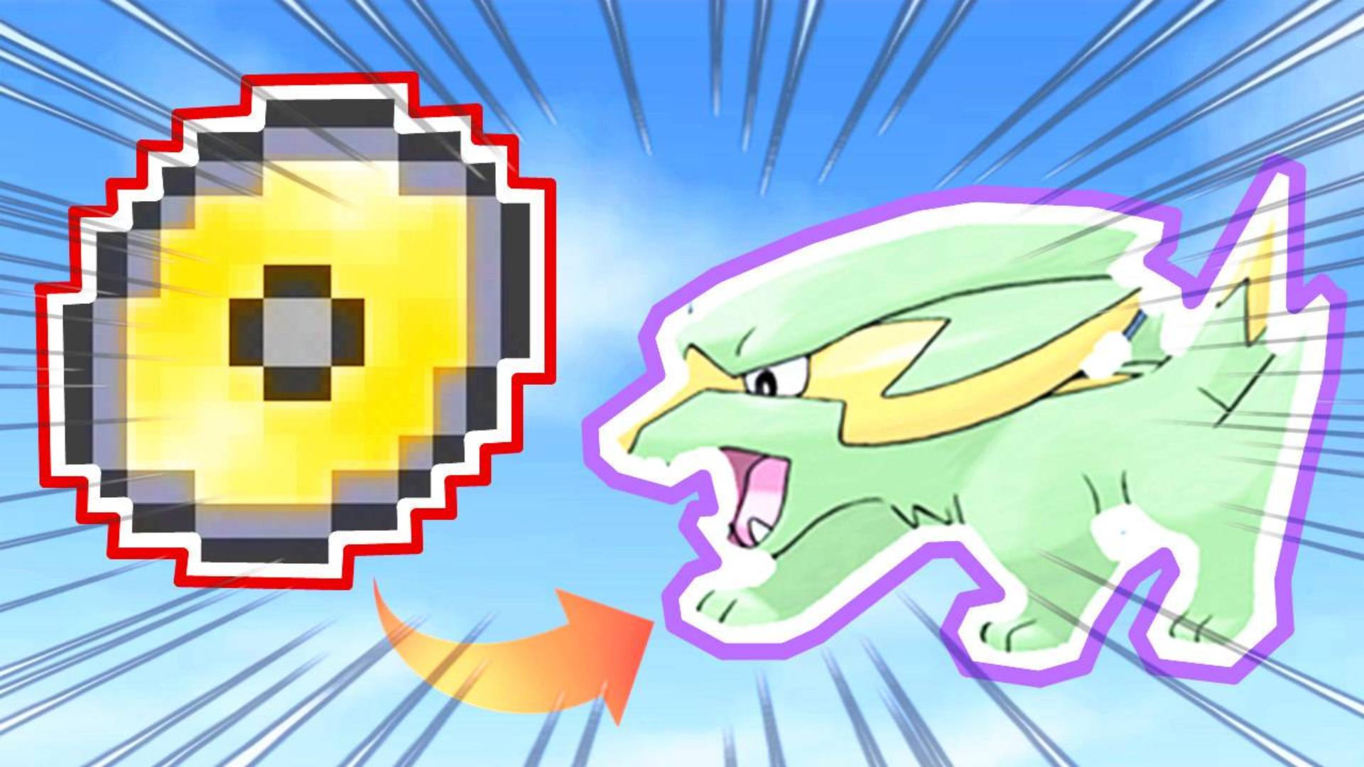 我的世界精灵宝可梦42:在野外收集了技能学习器,一个球抓落雷兽!