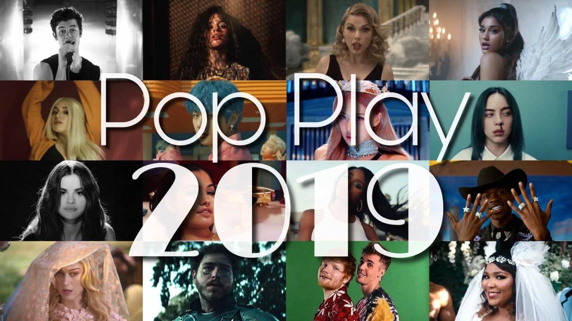 【油管精选】POP PLAY 2019·110+首欧美乐2019年终盘点混音-by:PaulG